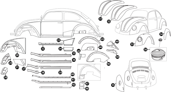 1968-1979 Beetle Section 2